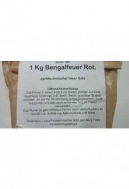 Begalfeuer 1kg rot
