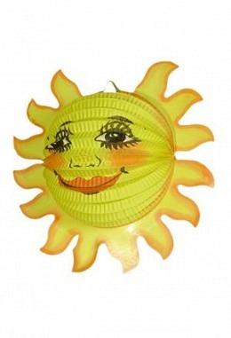 Lampion Happy sun