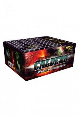 Batterie Caldera, 99 Schuss